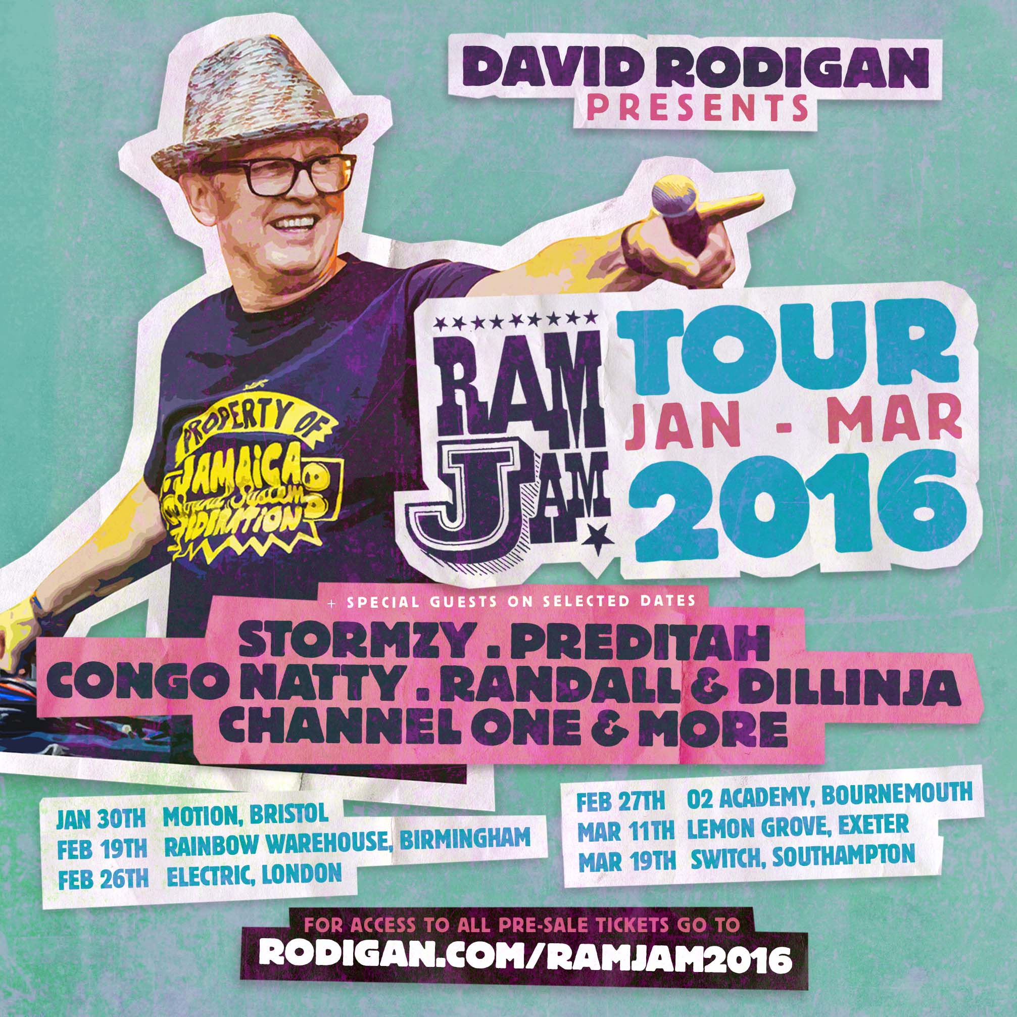 RODIGAN WINTER TOUR 16